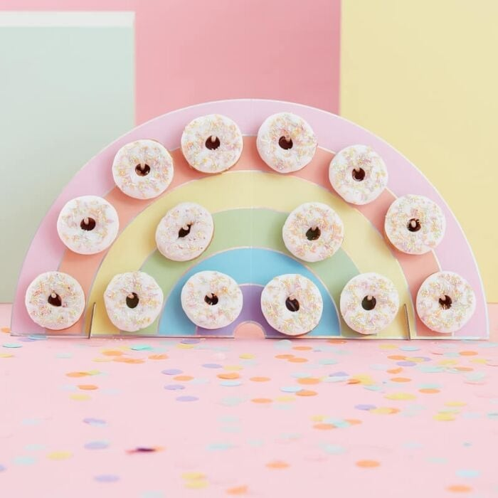 Pastel Party, Donut Wall