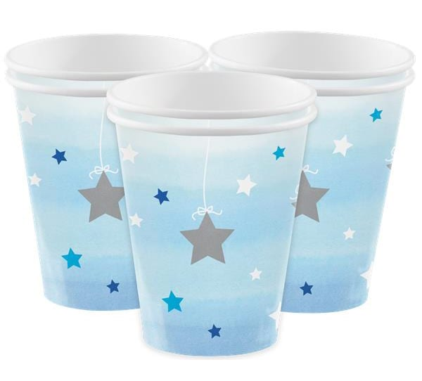 Twinkle Little Star Blå, Muggar 8-pack