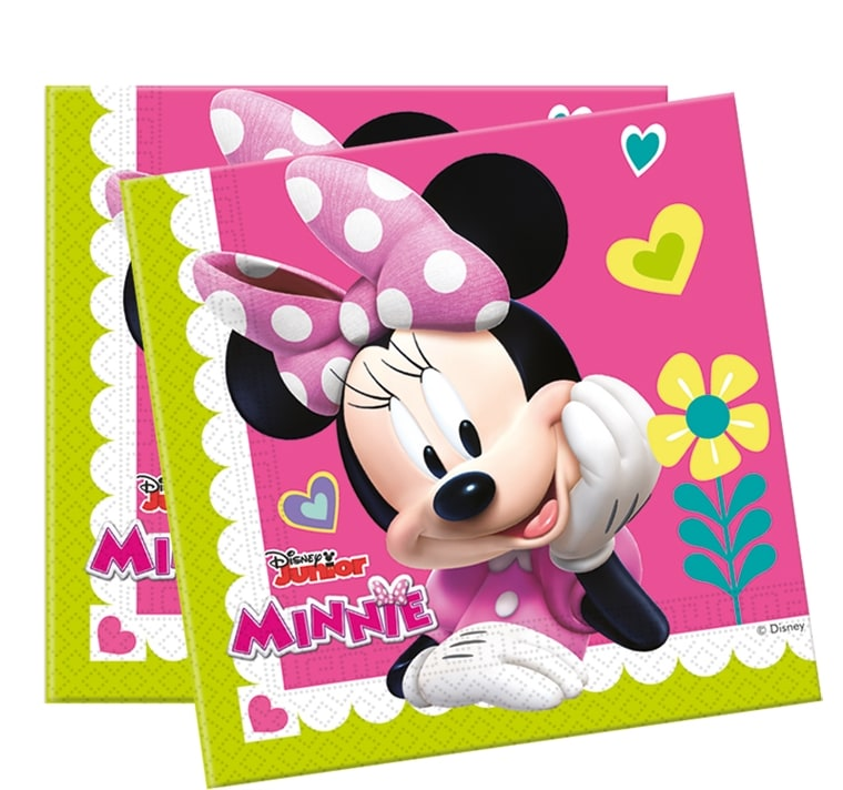 Minnie Happy Helper, Servetter 20-pack