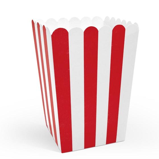popcorn boxar till kalas